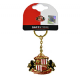 Sunderland Football Club metal / enamel keyring (bst)